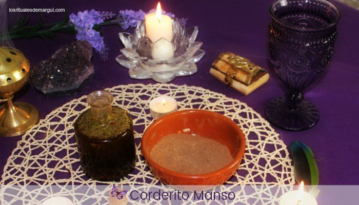 Corderito Manso ~ Aceite y Polvos Mágicos
