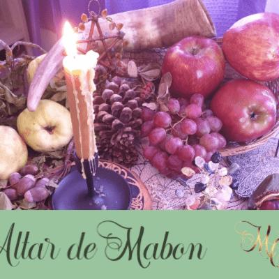 Cómo poner el Altar de Mabon