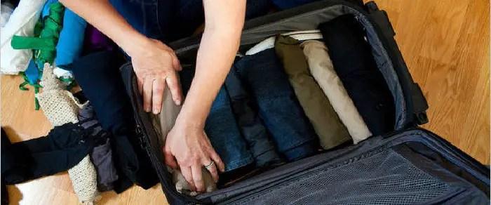 Resultado de imagen para empacar accesorios de viaje