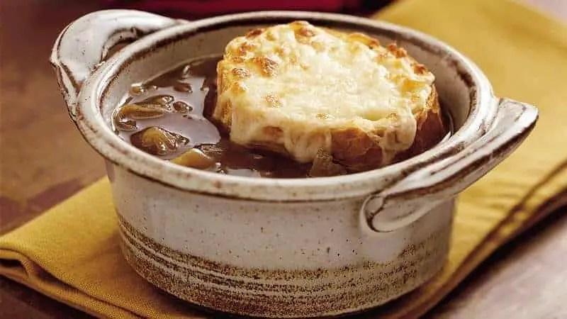 Receta Sopa de Cebolla Francesa