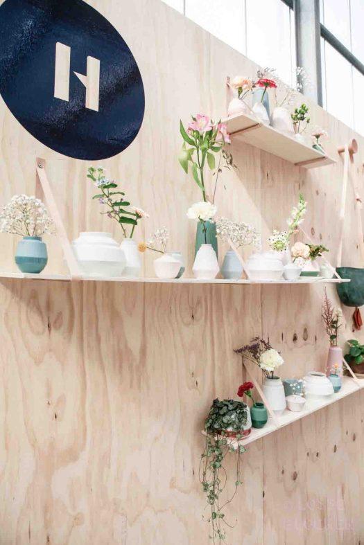 Helladuijs op showup 2017 met lossebloemen