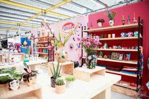 Ook Kitsch kitchen had op showup 2017 losse bloemen