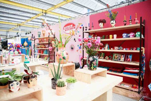 Ook Kitsch kitchen had op showup 2017 losse bloemen