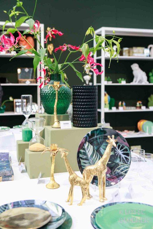 Trends &klevering goud jungle trend met gloriosa 2017 losse bloemen