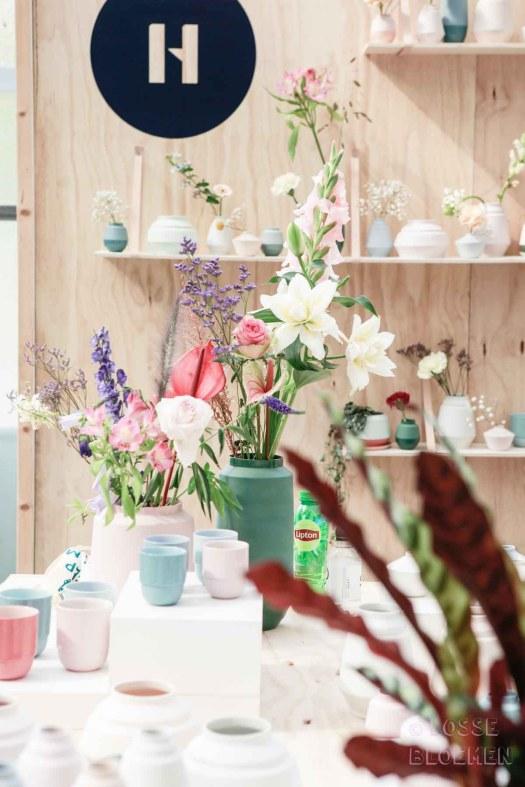 Trends Helladuijs op showup 2017 met lossebloemen