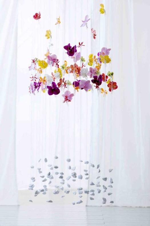 lossebloemen waterbuisjes orchidee mooiwatbloemendoen creatief inpakken met losse bloemen