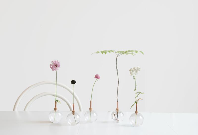 scandinaviaform vaas glasilium zweedsdesing vaas voor losse bloemen kerst tip