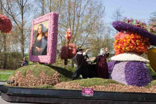 bollenveld tulpenveld Bloemencorso bollenstreek praalwagen bloemen losse bloemen blog Noordwijk tulips