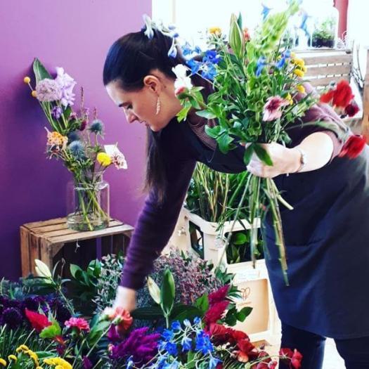 Start with dirt - een dag van het leven van een bloemiste - lossebloemenblog