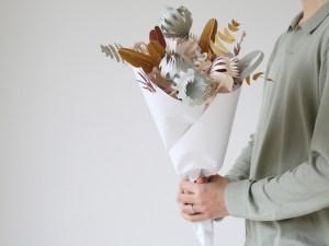 juriannematter NIEUW ONTWERP- kore - veldbloemen Het makkelijkste zelf-maak-boeket!
