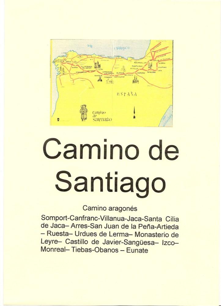 CAMINO DE SANTIAGO - SELLOS DE LOS ALBERGUES DE PEREGRINOS (2/6)
