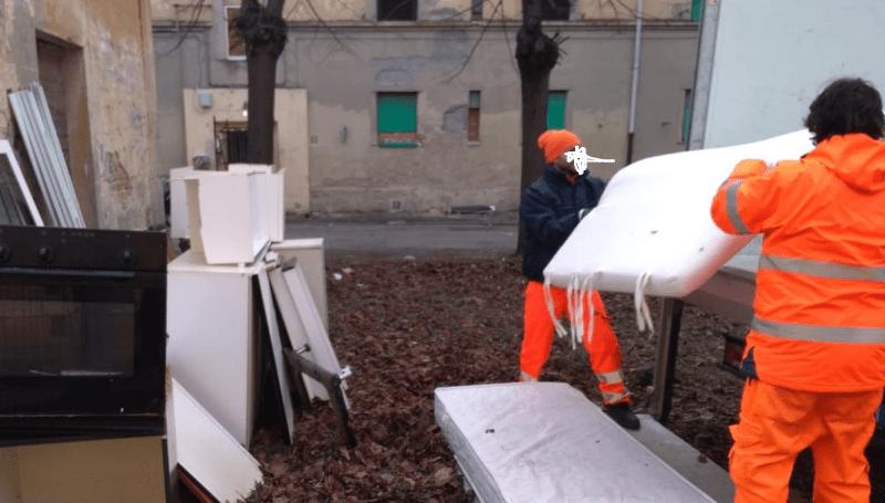 Sciopero degli spazzini AVR