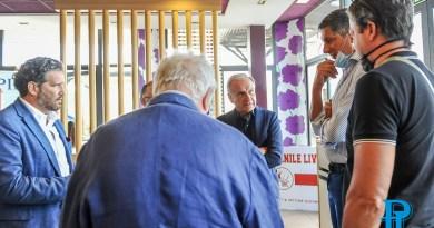 Basket: presentata la partnership tra Pielle Livorno e Basket Femminile Livorno alla presenza del presidente Fip Gianni Petrucci