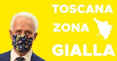 Eugenio Giani, Toscana Zona Gialla