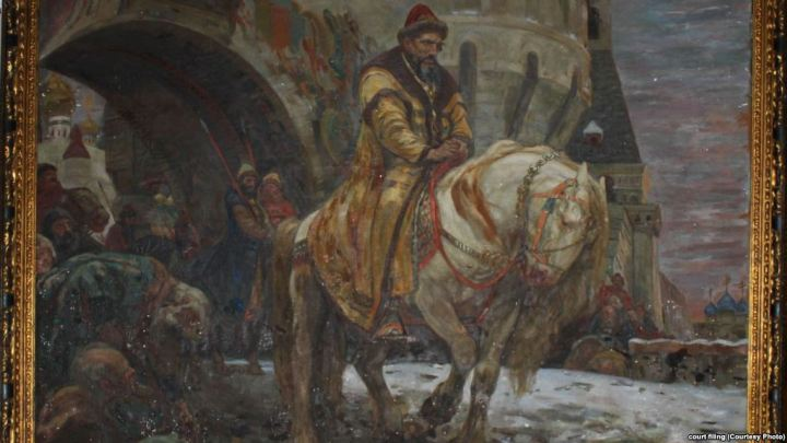 """Secret Departure Of Ivan The Terrible Before The Oprichnina"" by Mikhail Panin. Source: RFE/RL"