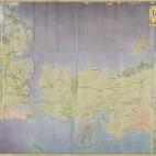 Mapa de los viajes de los personajes