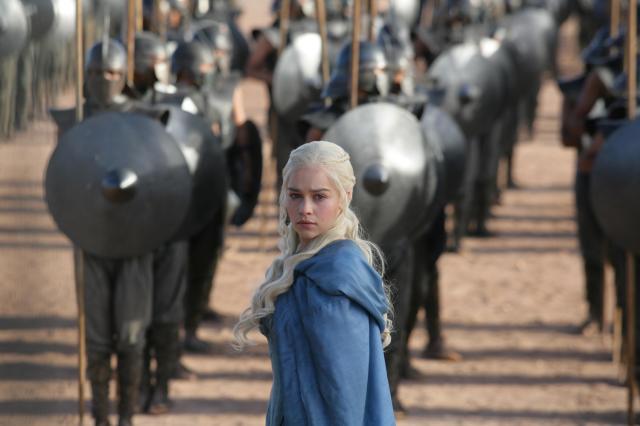 Daenerys con sus Inmaculados