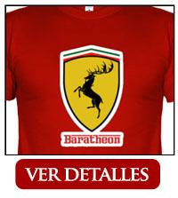 Camiseta Baratheon Ferrari