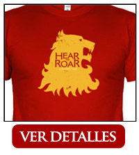 Camiseta Casa Lannister Oye mi rugido