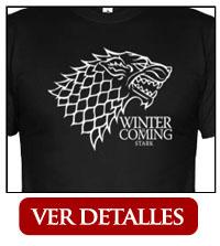 Camiseta Casa Stark Lobo
