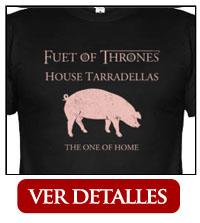 Camiseta Fuet of Thrones
