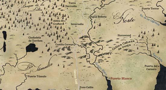 Invernalia y alrededores