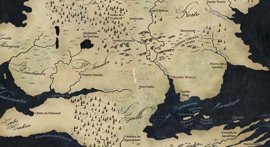 Mapa Invernalia y el Norte (pincha para ampliar)