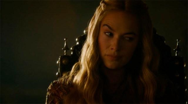 Cersei no está contenta