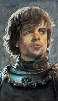 Tyrion Lannister during the Battle of Blackwater by ~thegryllus on deviantART