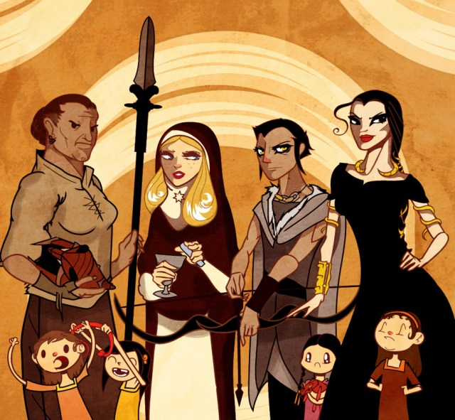 Sand Snakes by ~Sir-Heartsalot on deviantART