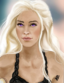 The mother of dragons by ~Caleandra on deviantART