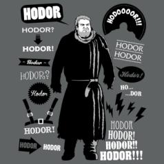 Camiseta de Hodor