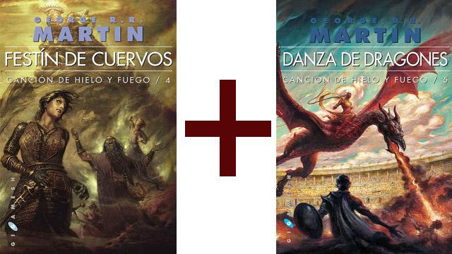 Festin_de_Cuervos y Danza_de_Dragones