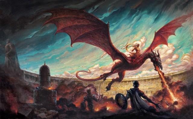 Danza de Dragones, por Enrique Corominas.