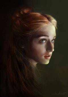 Sansa by AniaMitura on deviantART