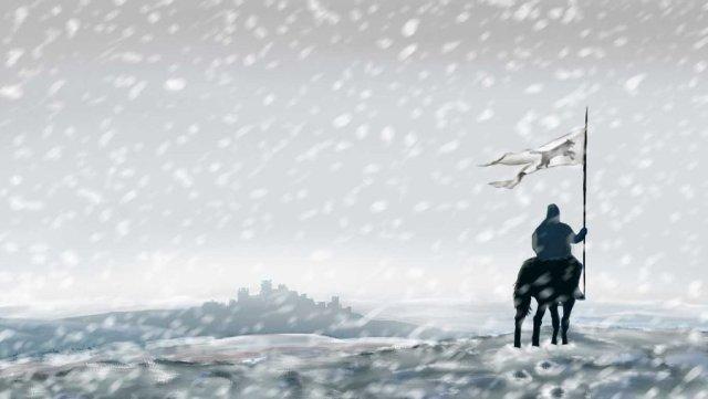 Winterfell by carlospoletto on deviantART