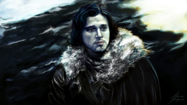 Jon Snow by nirnalie on deviantART