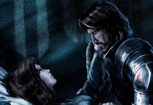 Lyanna y Eddard en la Torre de la Alegría by Amoka, FFG©