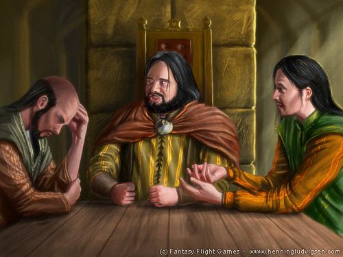 Stannis, Robert y Renly by henning on deviantART