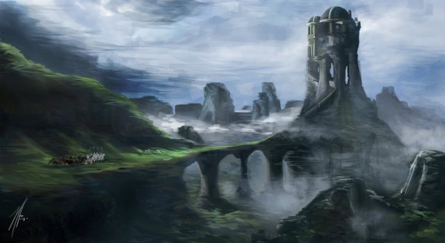 The Vale of Arryn. by MuffinJH on deviantART