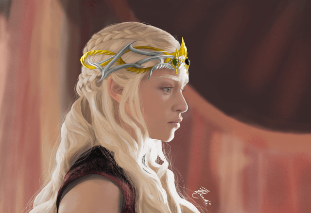 Daenerys Targaryen Queen of Meereen by Zzacchi on DeviantArt