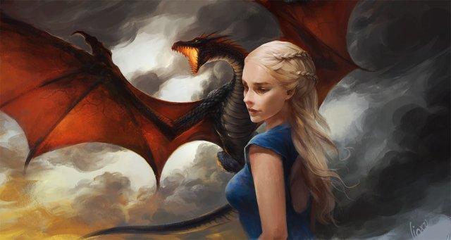 Daenerys Targaryen by linxz2010 on DeviantArt