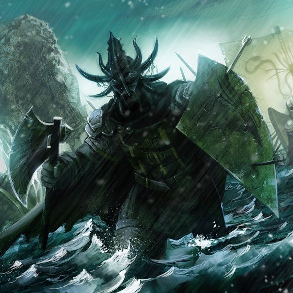 Victarion Greyjoy by Matt Olson