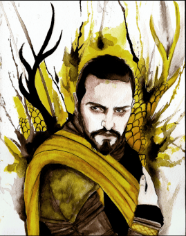 Orys Baratheon by Silent-My-Voice