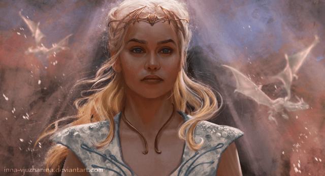 Daenerys by Inna-Vjuzhanina