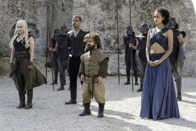daenerys y su corte