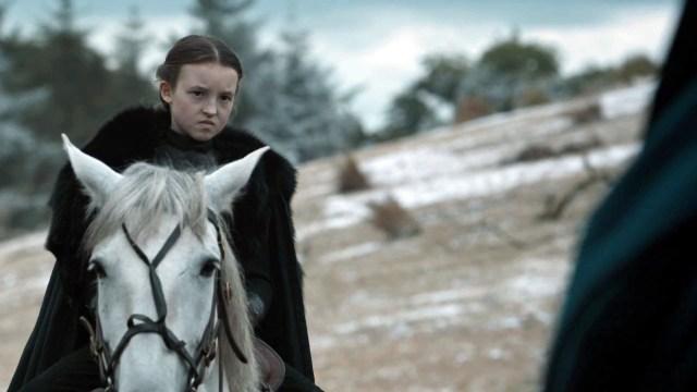 Lyanna Mormont, vasalla de los Stark