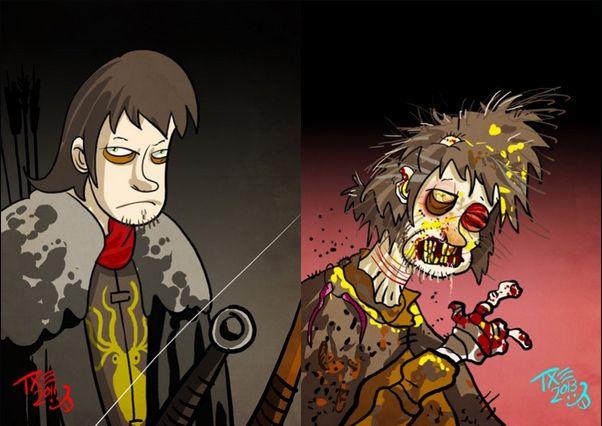 La transformación de Theon