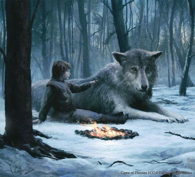Bran y Verano, por Joshua Cairós