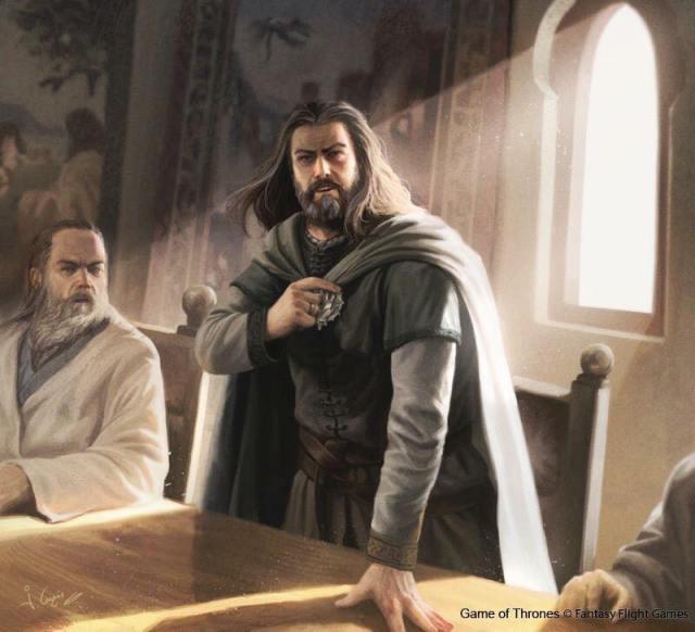 Ned Stark, por Joshua Cairós